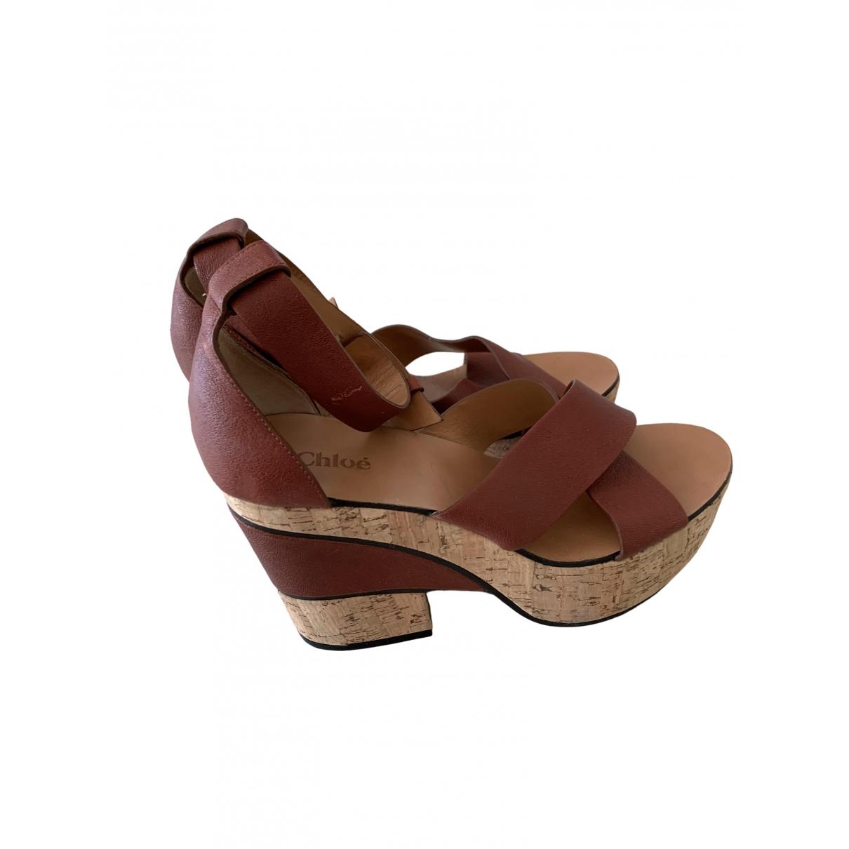 Sandalias de Cuero Chloe
