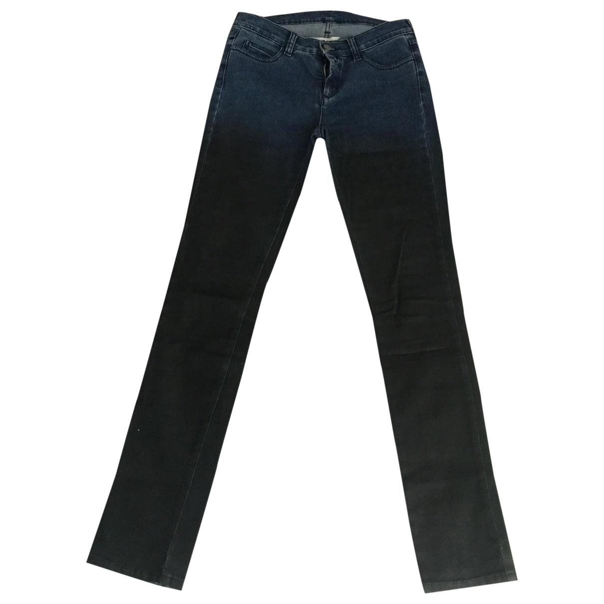 Mm6 \N Blue Denim - Jeans Jeans for Women 38 FR