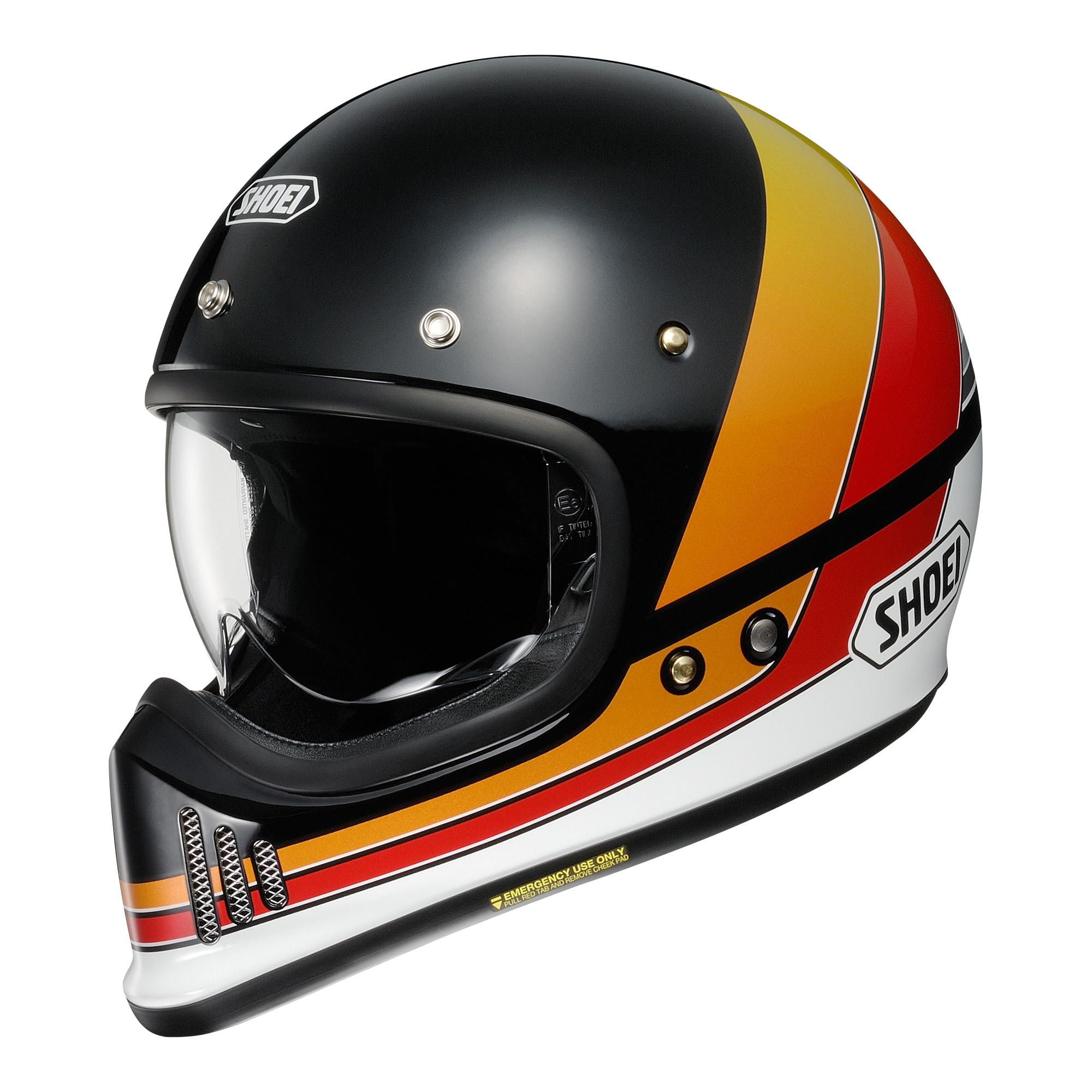 Shoei Ex-Zero Equation TC-10 Full Face Helmet  XL