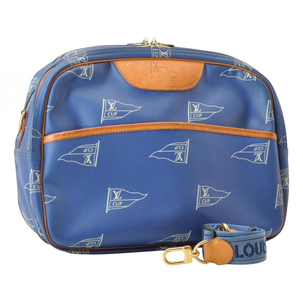Louis Vuitton N Blue Cloth handbag for Women N
