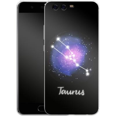 Huawei P10 Silikon Handyhuelle - TAURUS von Becky Starsmore