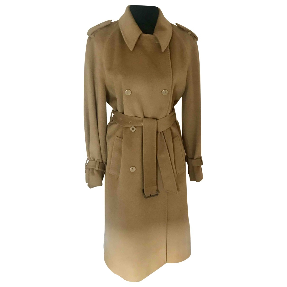 Georges Rech \N Camel Wool coat for Women 42 FR
