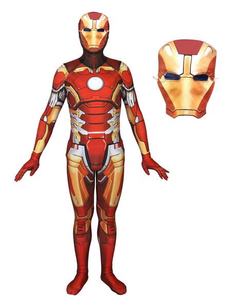 Milanoo Halloween Carnaval Iron Man Cosplay Mono Marvel Comics Cosplay Custome