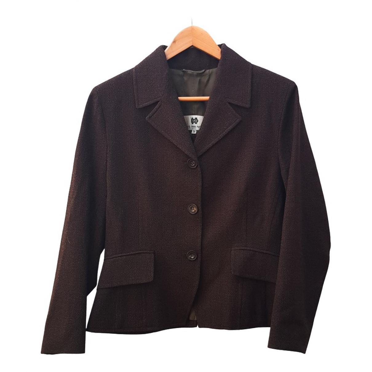 Dries Van Noten \N Brown Wool jacket for Women 38 FR