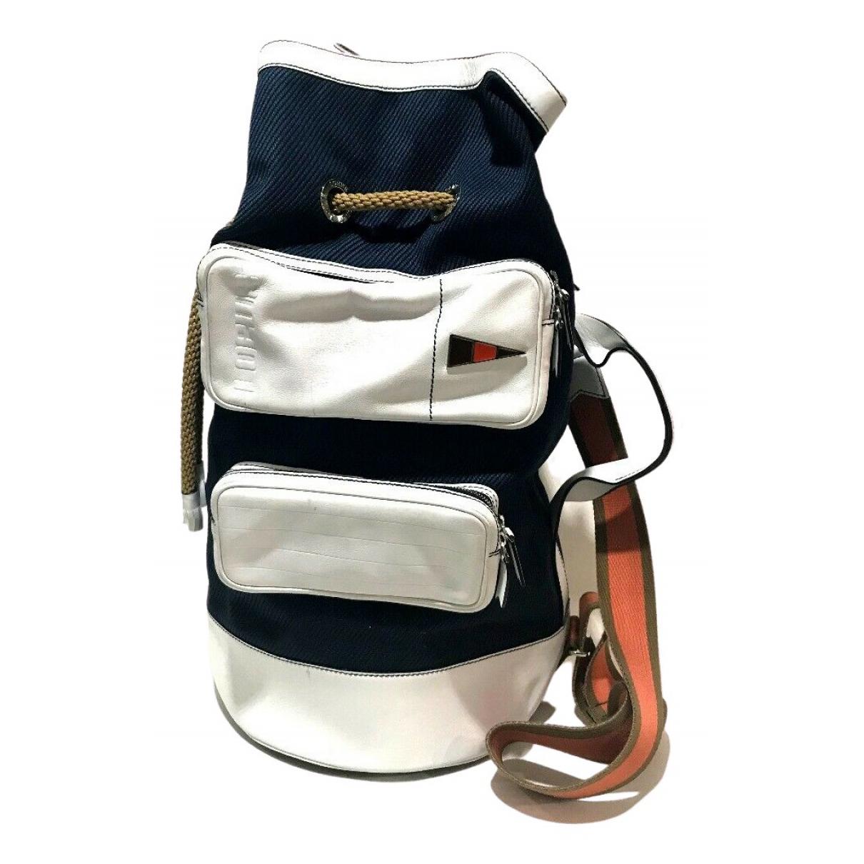 Loewe N Navy Cloth backpack for Women N