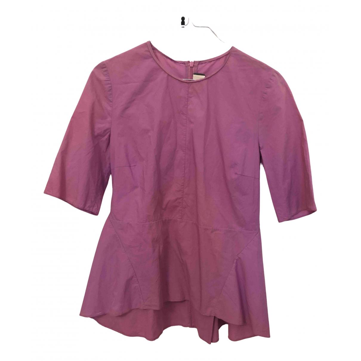 Marni - Top   pour femme en coton - violet