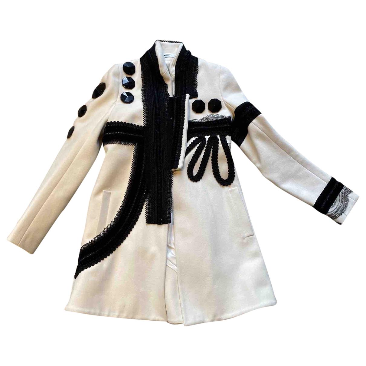 Givenchy - Manteau   pour femme en laine - blanc