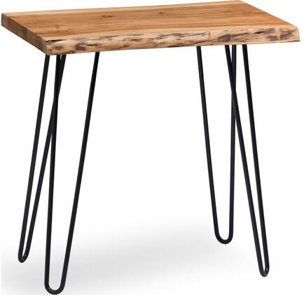 Hairpin Collection AWDD0120 Natural Live Edge End Table