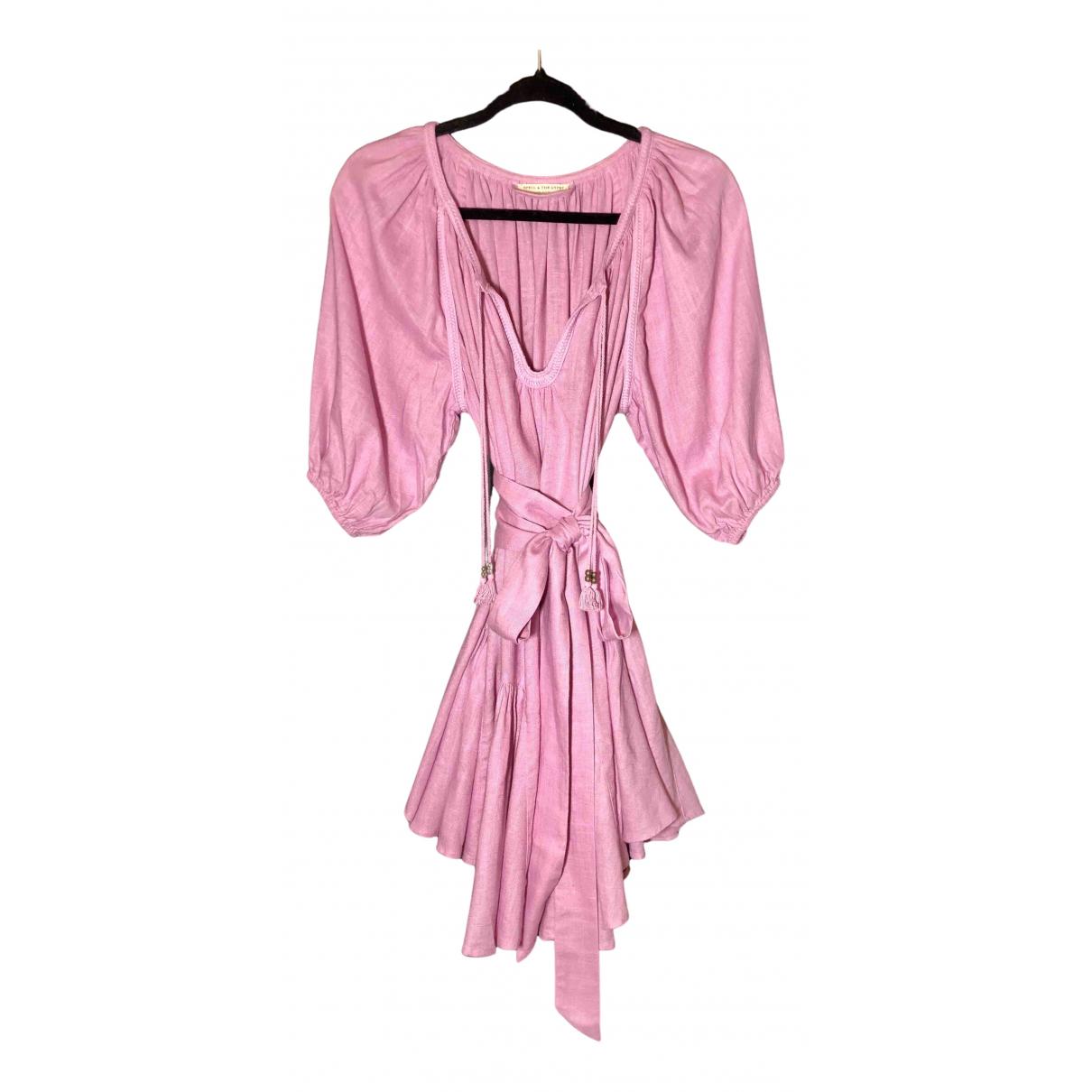 Mini vestido de Lino Spell & The Gypsy Collective