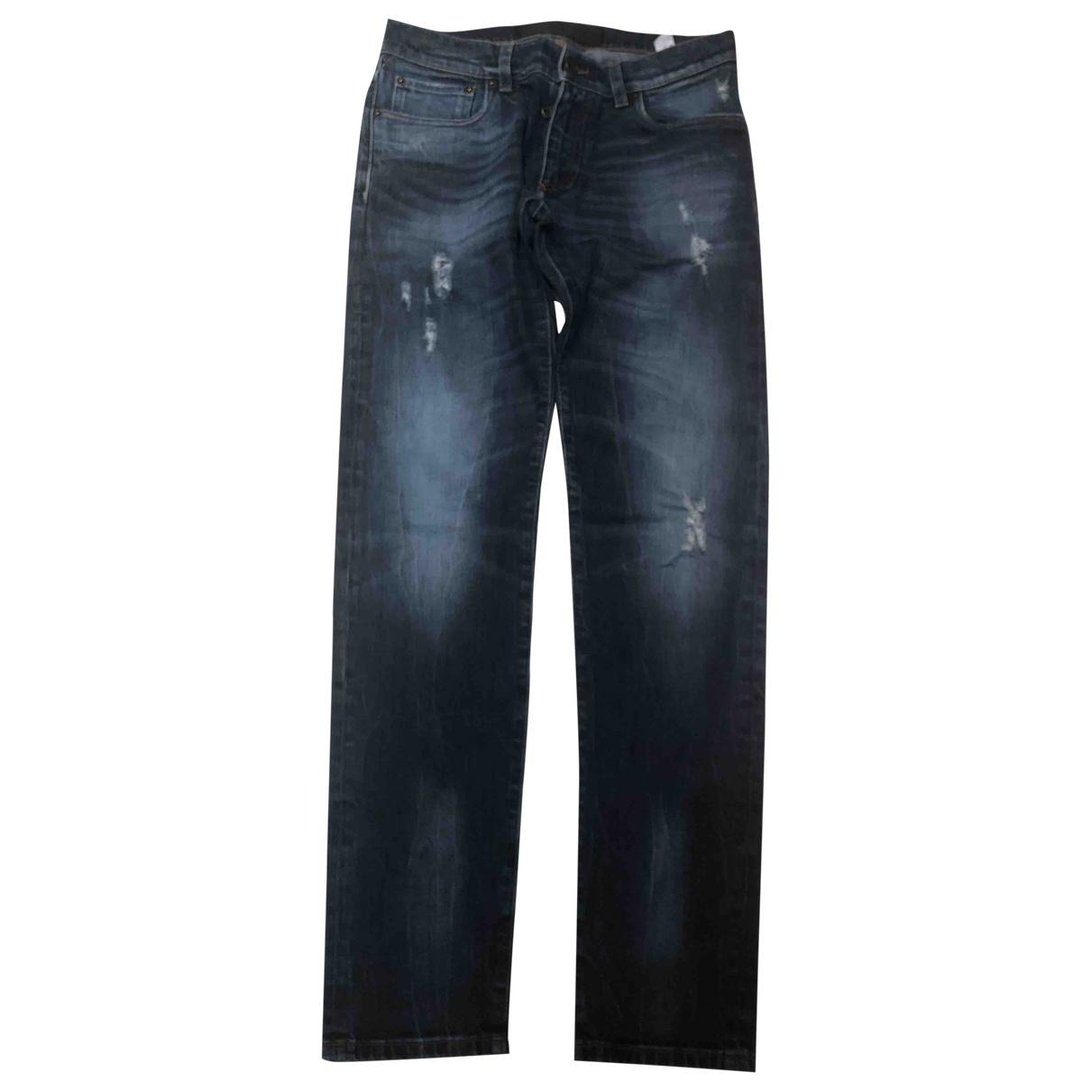 Dolce & Gabbana \N Blue Cotton - elasthane Jeans for Men 40 FR