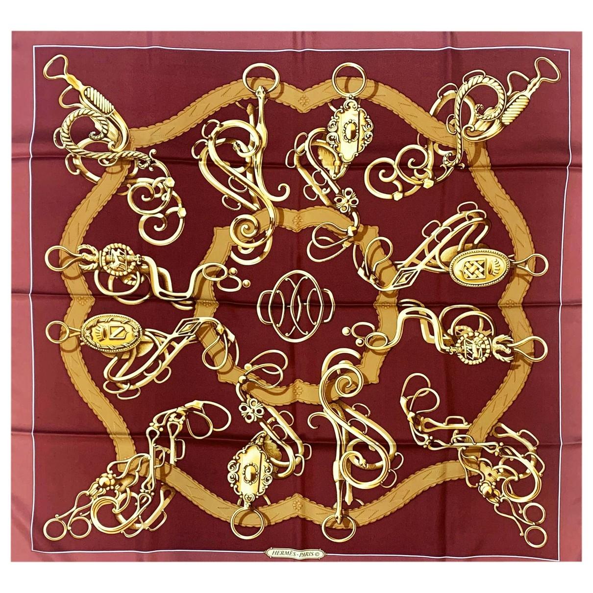 Hermes Carre Geant silk 140 Schal in Seide