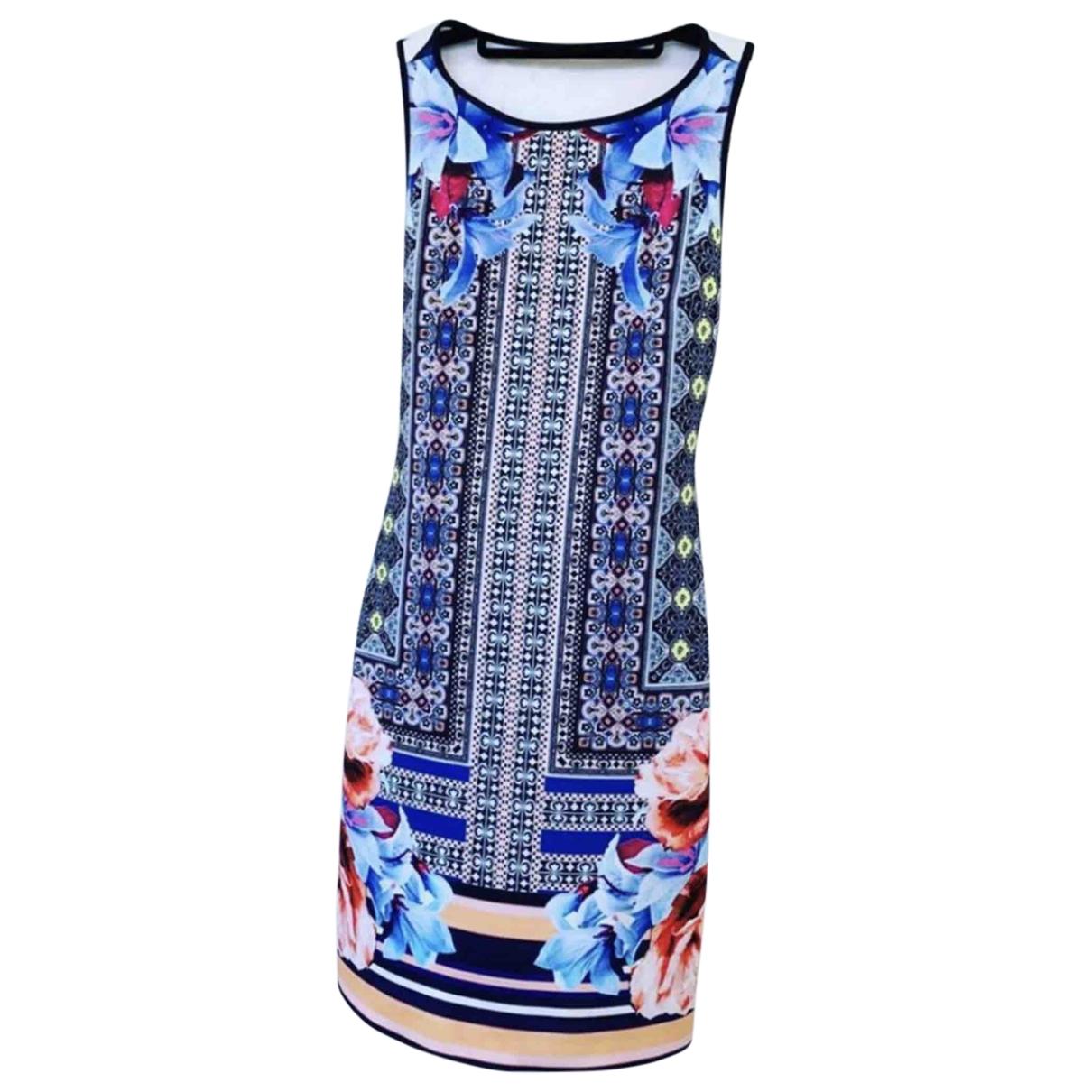 Clover Canyon - Robe   pour femme en coton - elasthane - bleu
