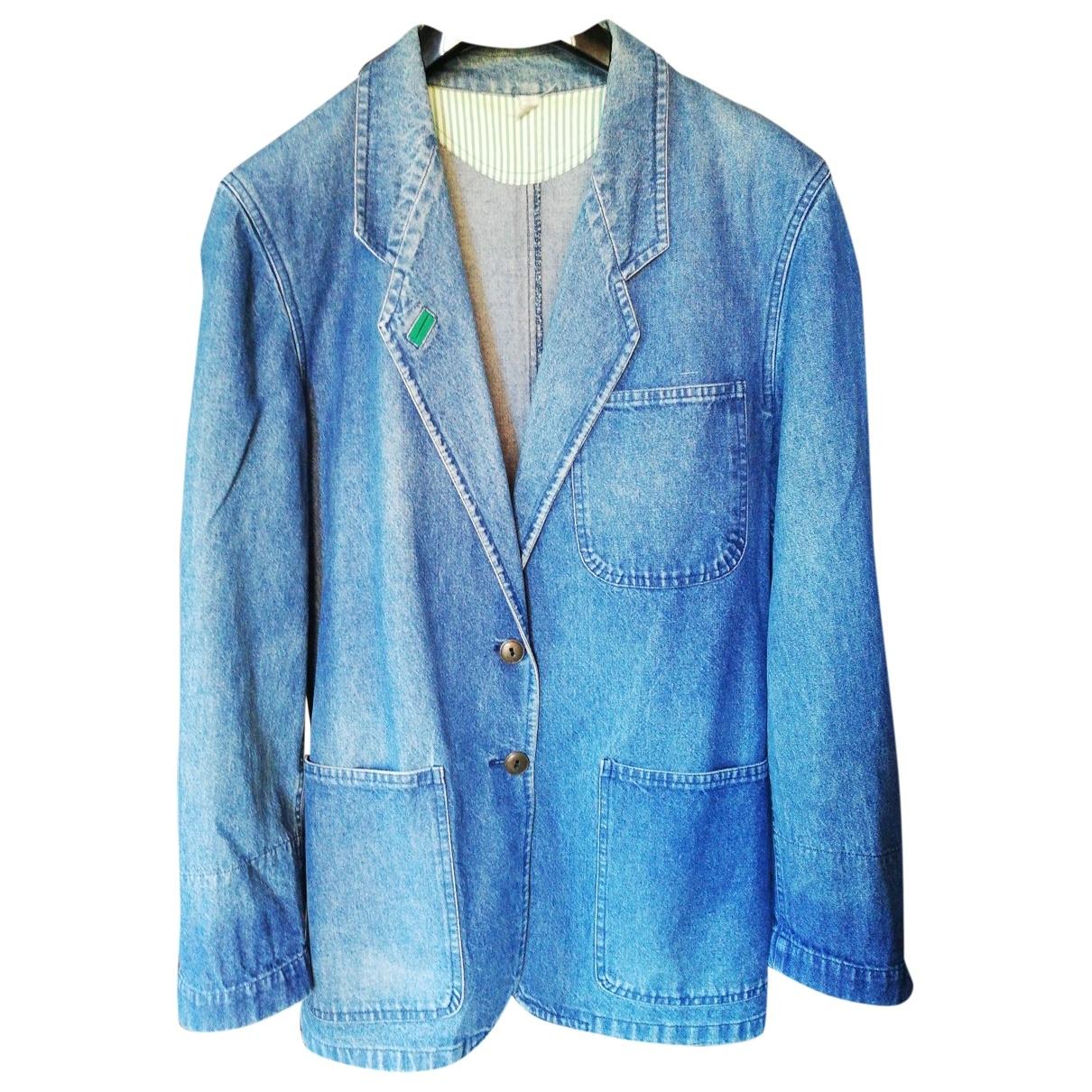 Non Signé / Unsigned \N Blue Denim - Jeans jacket for Women 44 IT