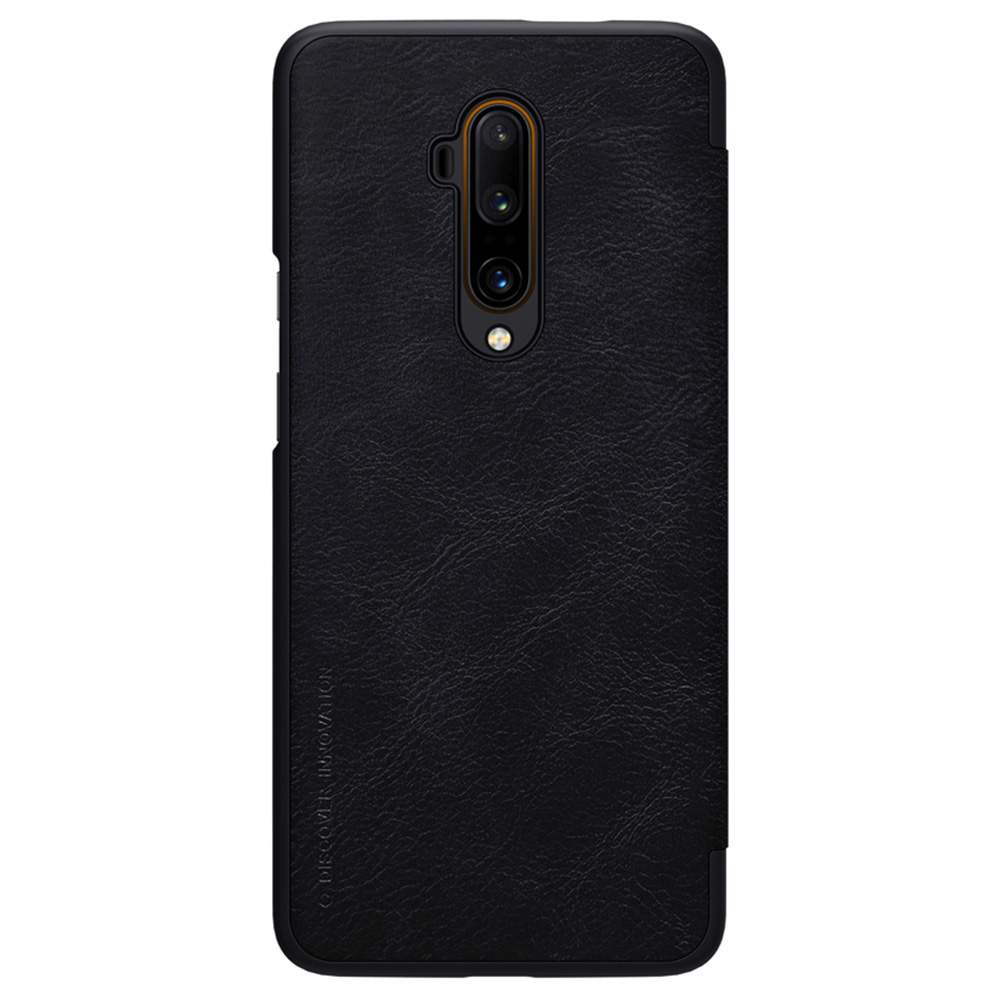 NILLKIN Protective Leather Phone Case For Oneplus 7T Pro Smartphone - Black