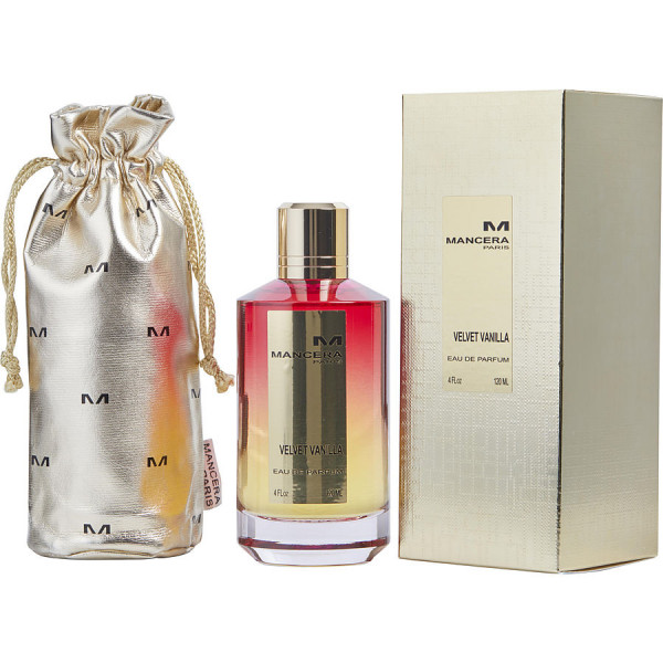 Mancera - Velvet Vanilla : Eau de Parfum Spray 4 Oz / 120 ml
