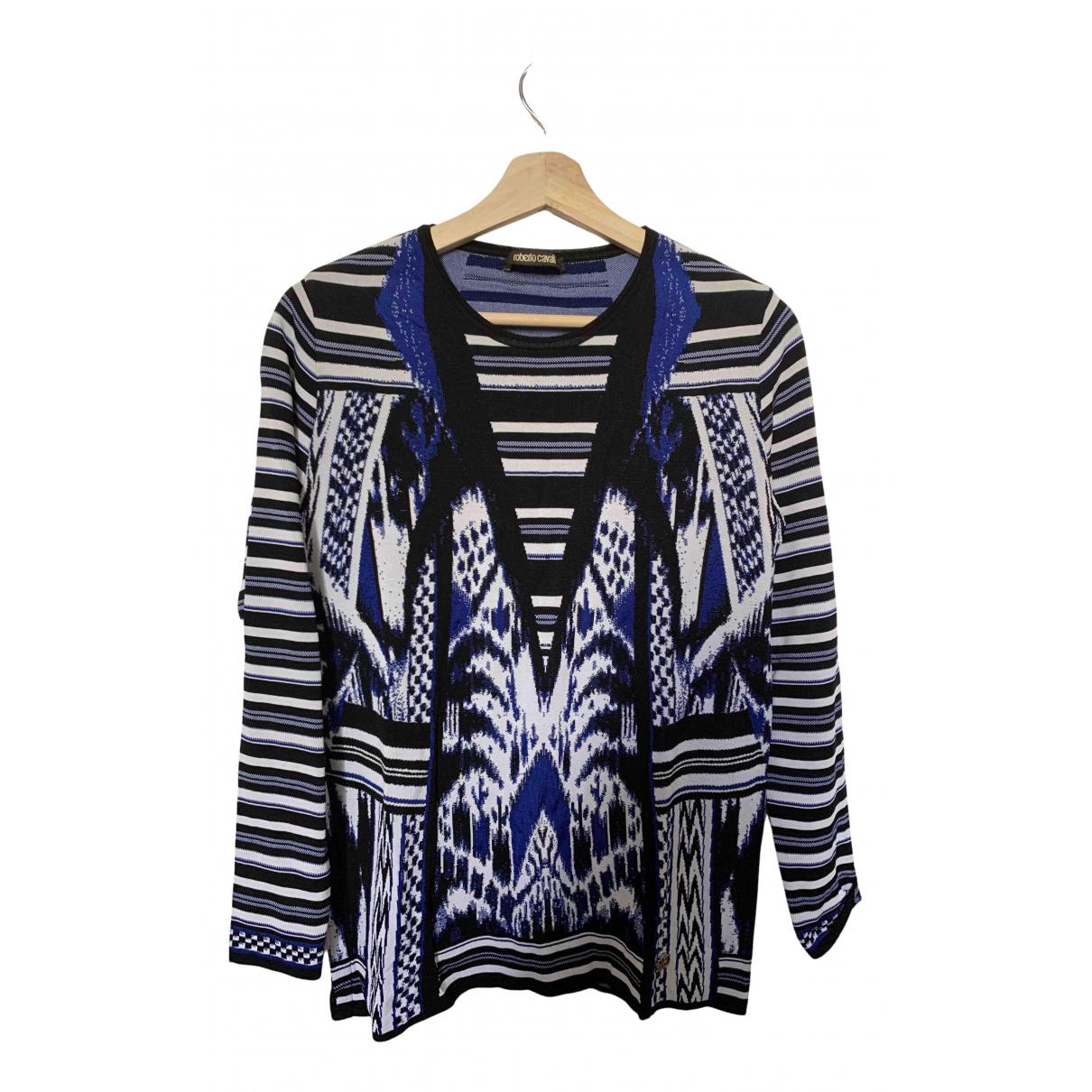 Roberto Cavalli N Blue Knitwear for Women 40 FR