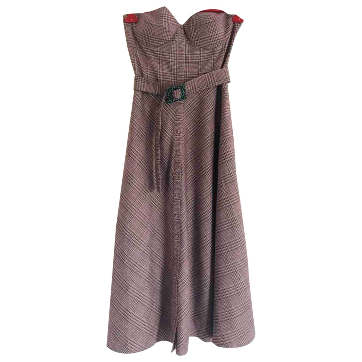 Rotate \N Kleid in  Rosa Polyester