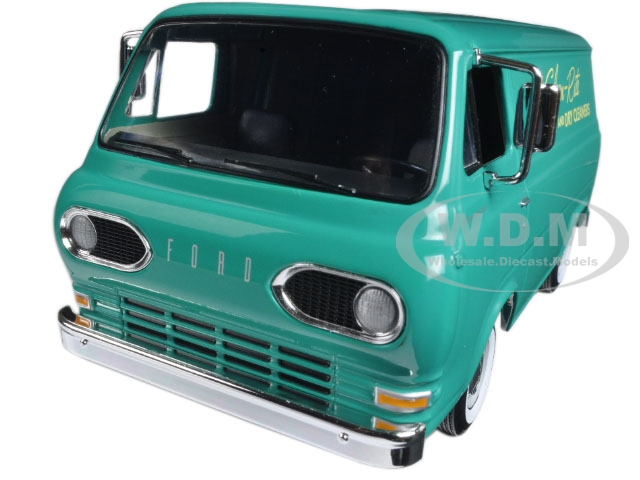 1960s Ford Econoline Van Clean-Rite Laundry and Dry Cleaners 1/25 Diecast Model Car by First Gear