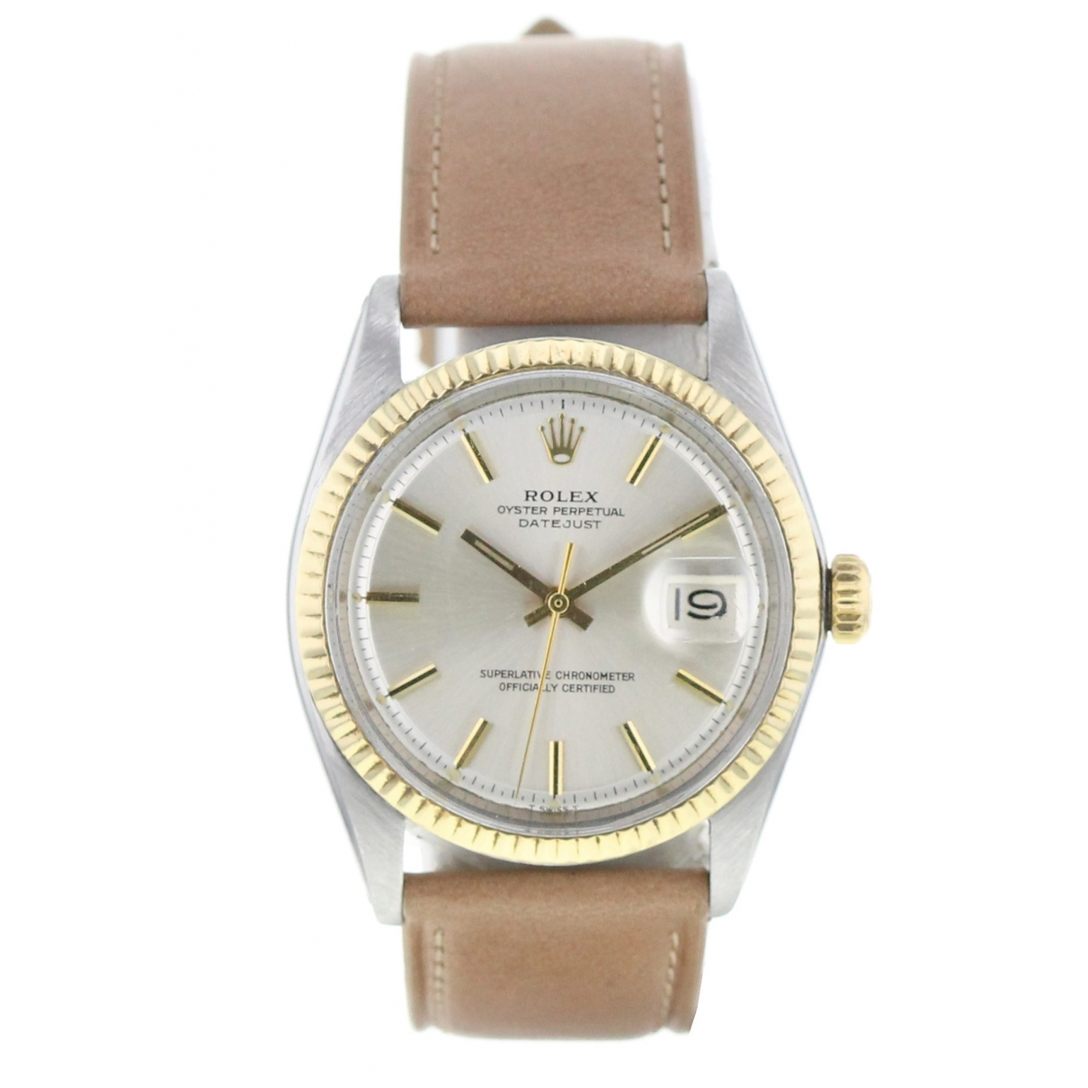 Rolex Datejust 36mm gold and steel watch for Men \N