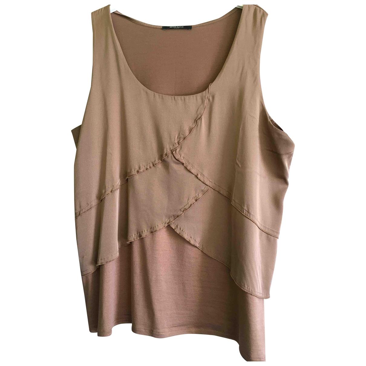 Camiseta sin mangas de Seda Bruuns Bazaar