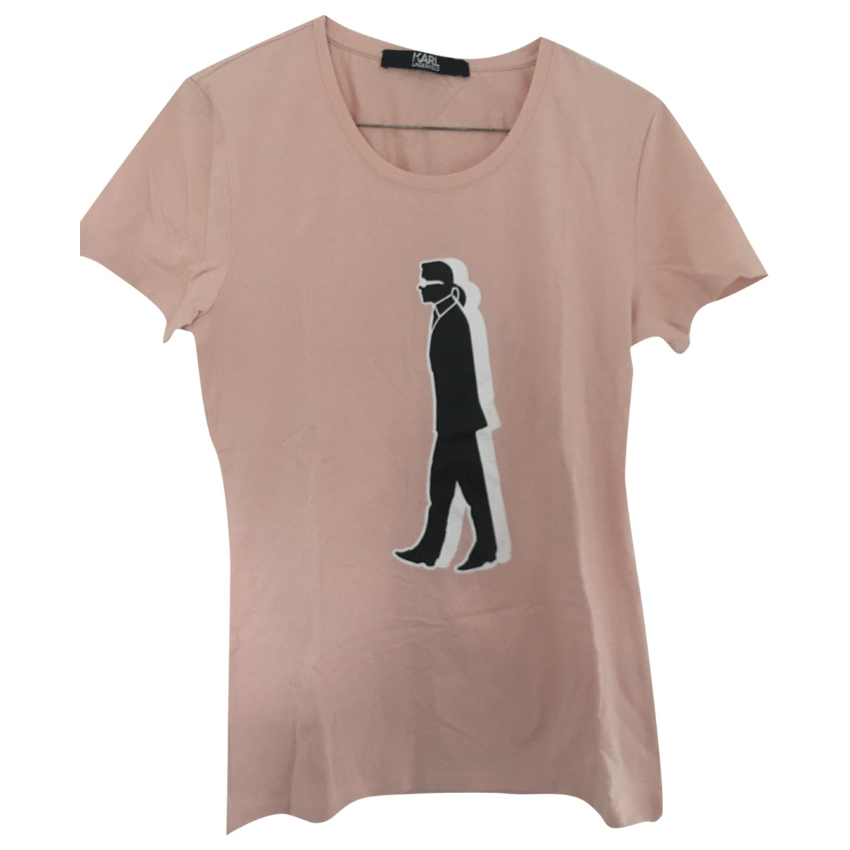 Karl Lagerfeld \N Top in  Rosa Baumwolle