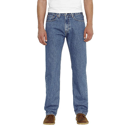 Levi's Mens 505 Straight Regular Fit Jean, 31 30, Blue