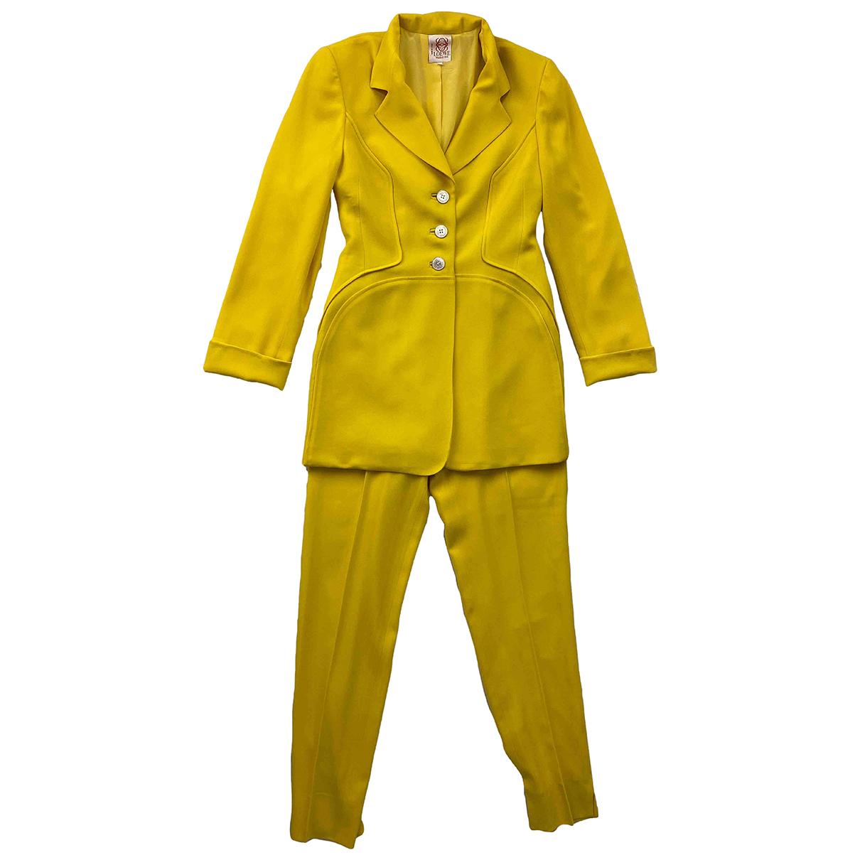 Pantalon de traje de Lana Loewe