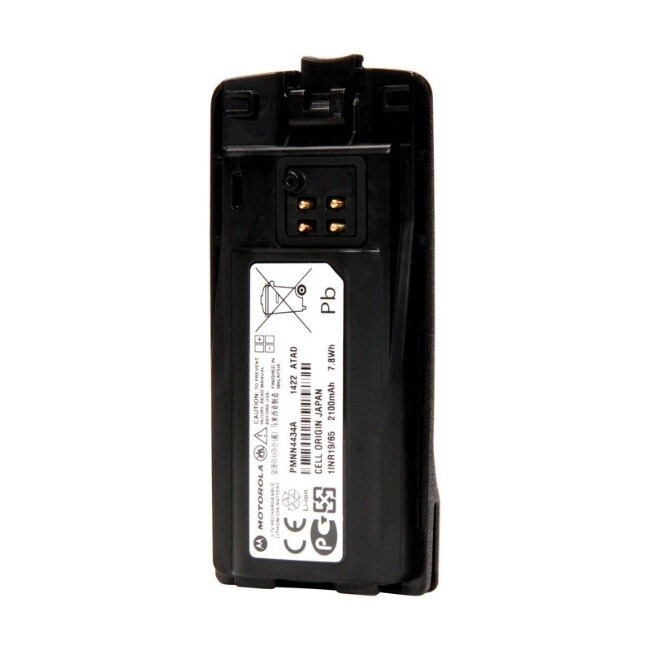 Motorola Solutions  Lithium Ion  3.65-Volt  3.7 volt PMNN4434  1 each Two-Way Radio Battery