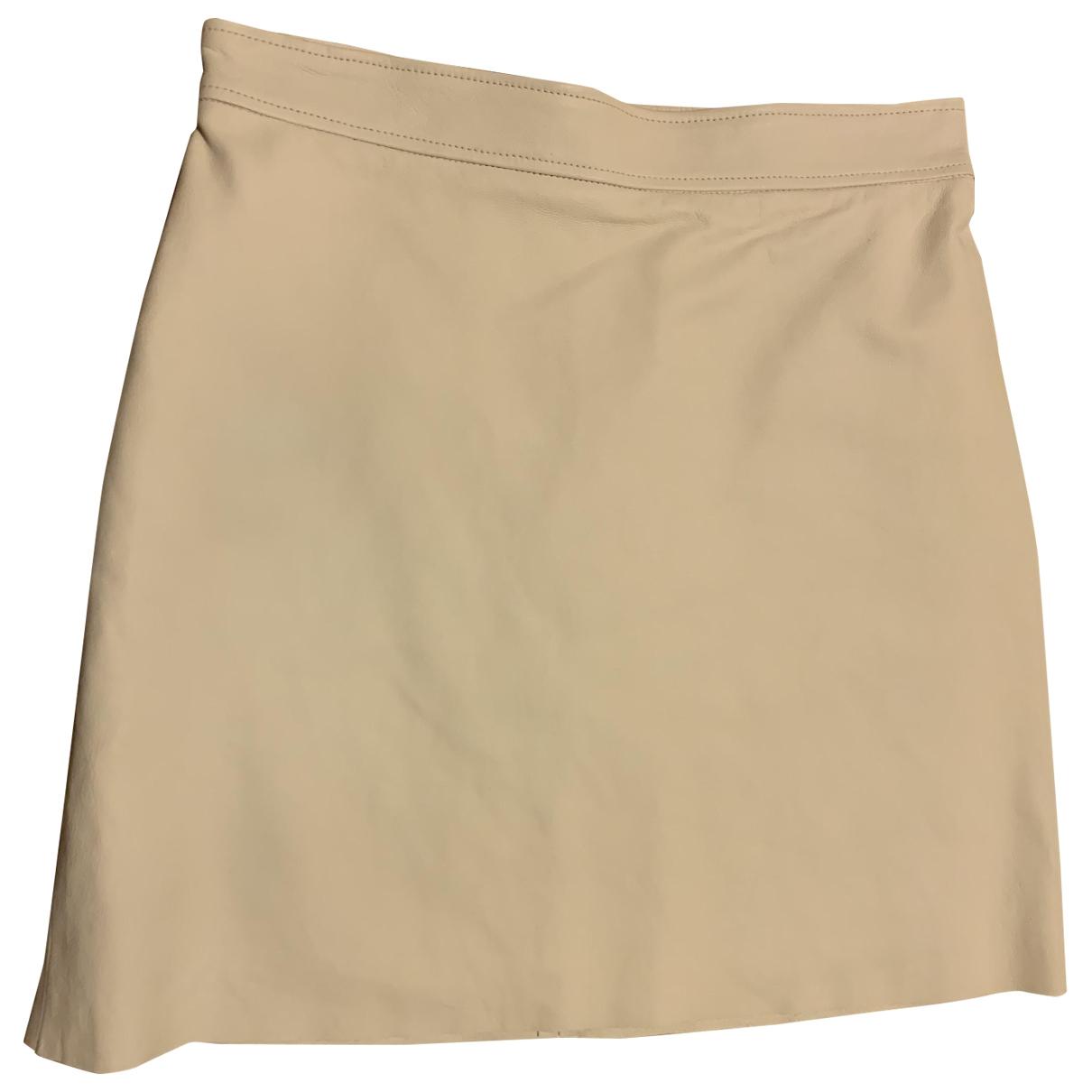 Mini falda de Cuero Gucci