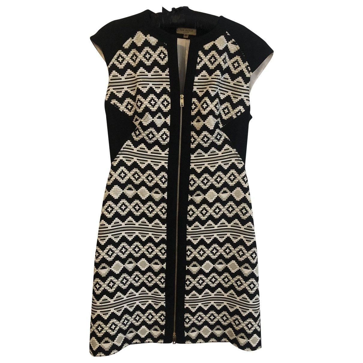 Ted Baker \N Black dress for Women 36 FR