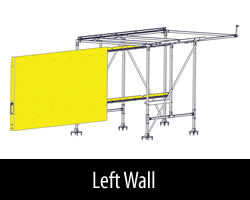 Cargo Glide LH WallSlide with Framework  Ford Super Duty 8ft Bed A.R.E 29
