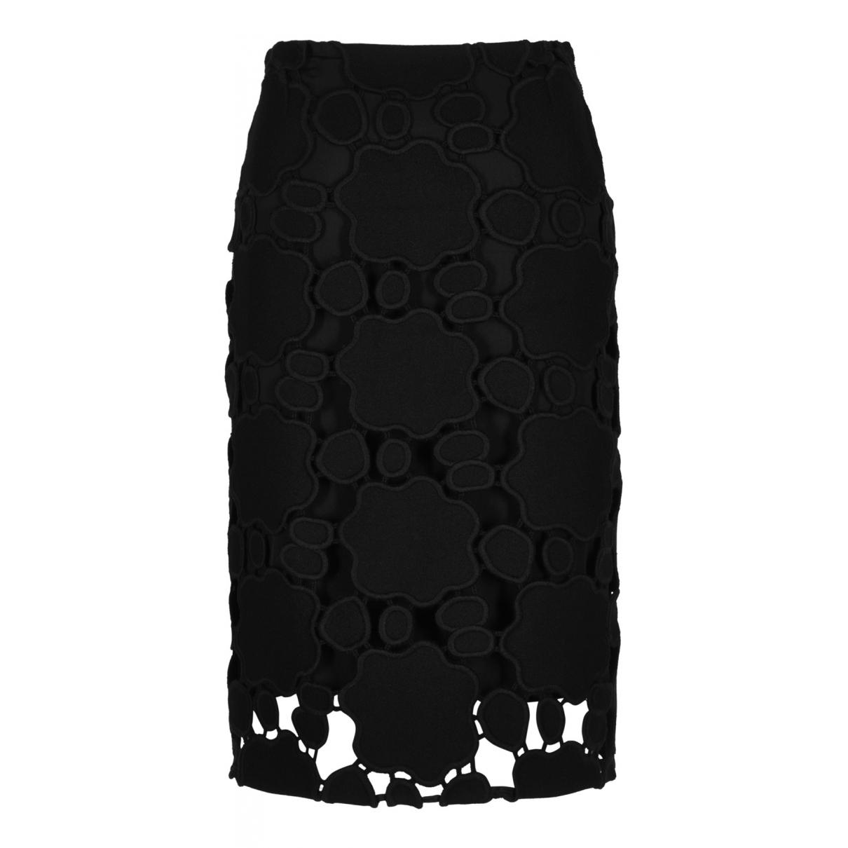 Miu Miu N Black Silk skirt for Women 8 UK
