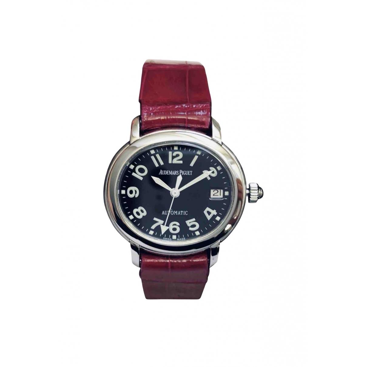 Audemars Piguet Millenary Uhr in  Schwarz Stahl
