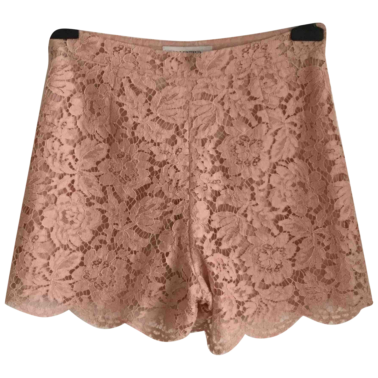 Valentino Garavani \N Shorts in  Rosa Baumwolle