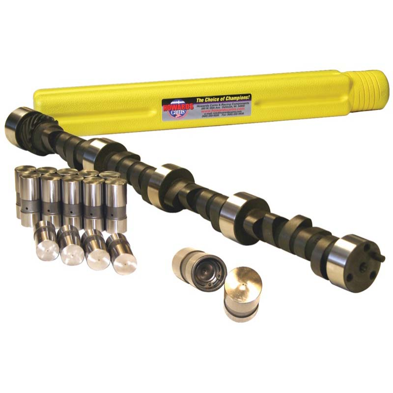 Mechanical Flat Tappet Camshaft & Lifter Kit; 1955 - 1998 Chevy 262-400 3000 to 6400 Howards Cams CL110102-12DL CL110102-12DL