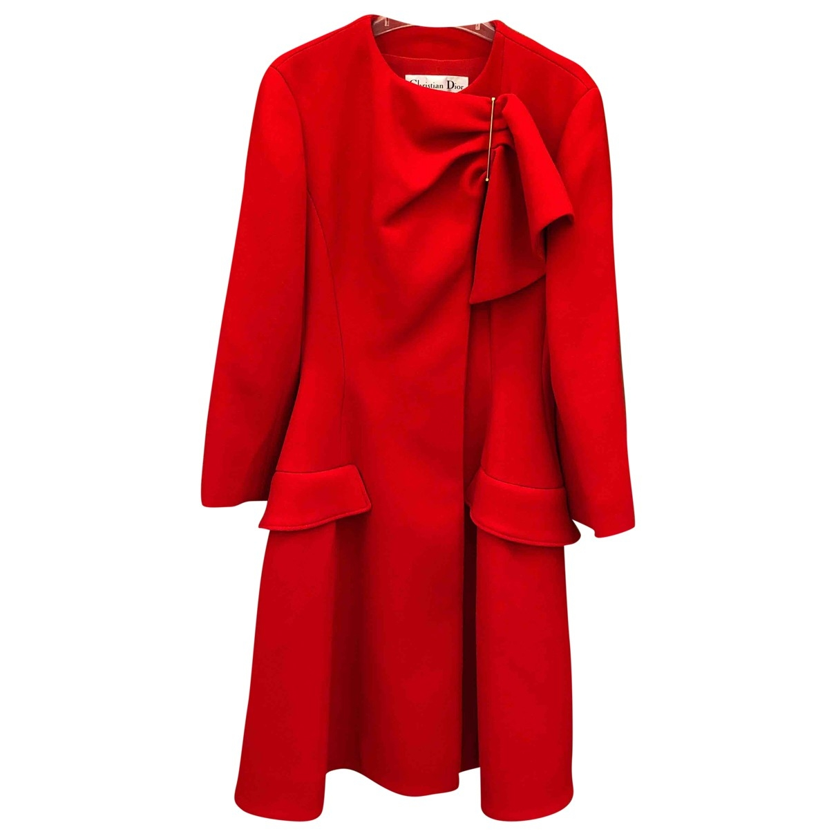 Dior \N Red Wool coat for Women 36 FR
