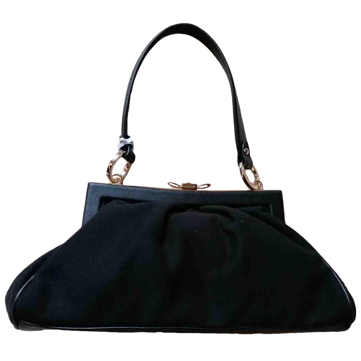 Twin Set \N Black Suede handbag for Women \N