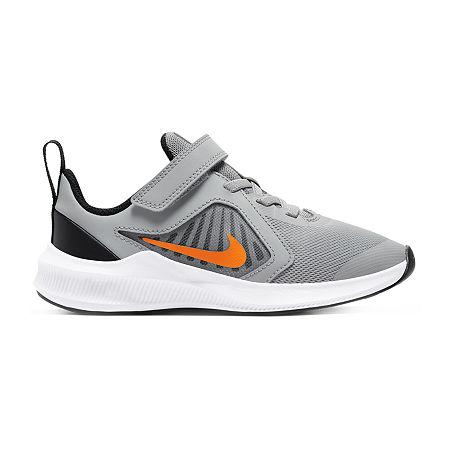 Nike Downshifter 10 Little Kids Unisex Running Shoes, 12 Medium, Gray