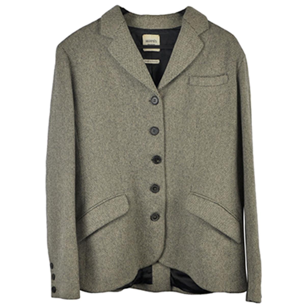 Hermes - Veste   pour femme en laine - beige