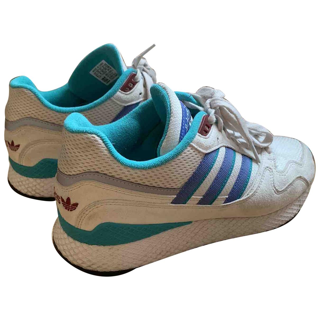 Adidas - Baskets   pour femme en suede