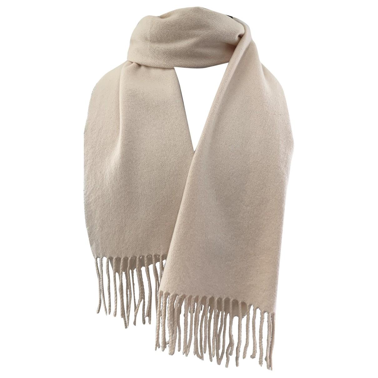 Givenchy - Foulard   pour femme en laine - blanc