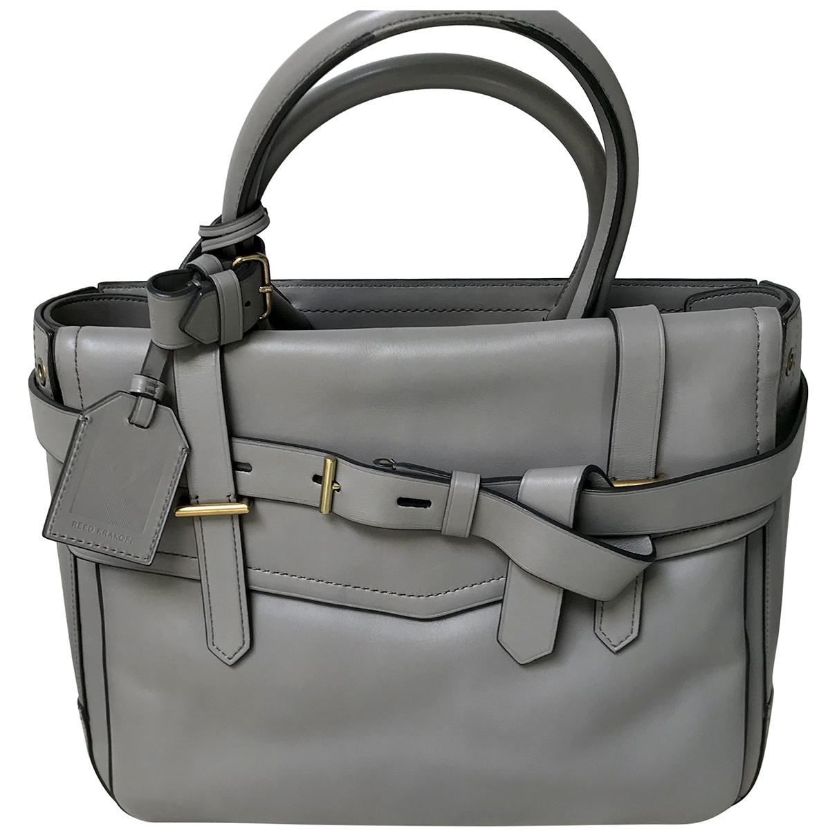 Reed Krakoff \N Grey Leather handbag for Women \N
