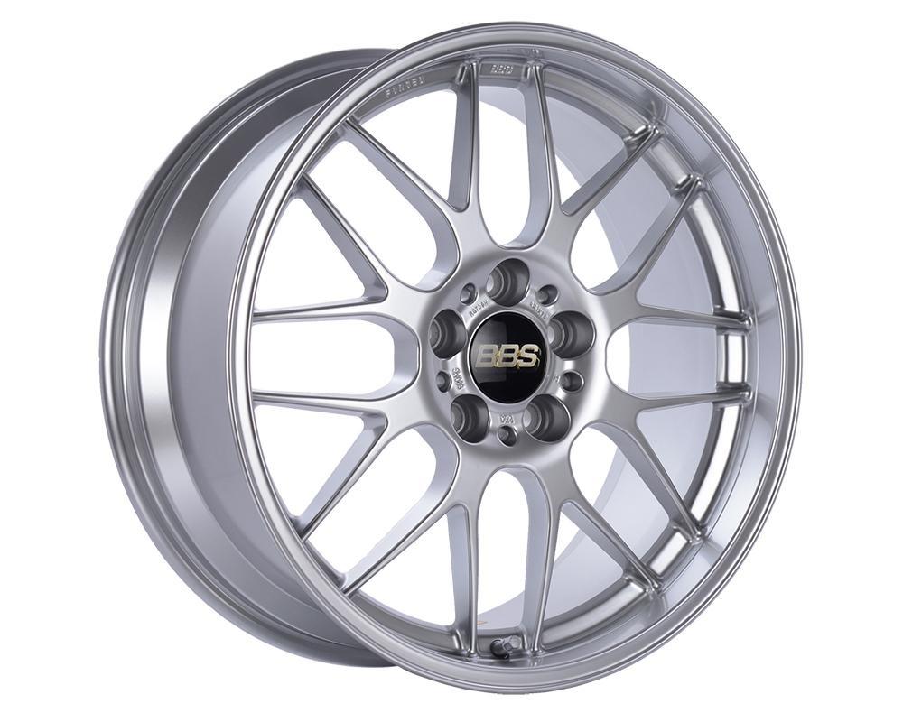 BBS RG-R Wheel 18x8.5 5x120 38mm Diamond Silver