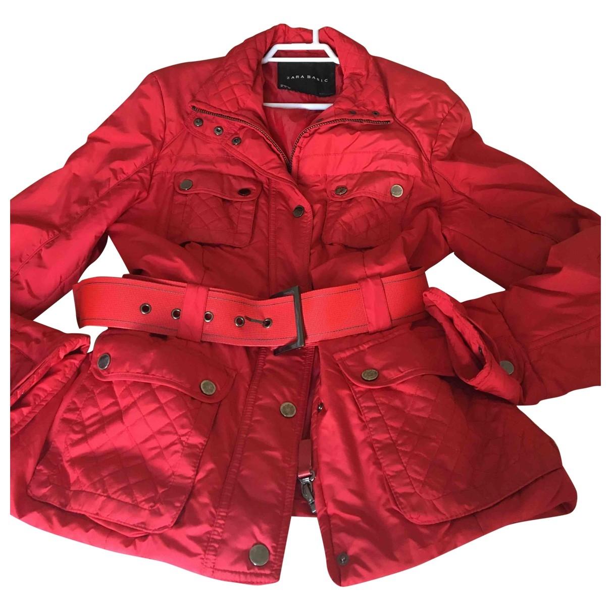 Zara \N Red coat for Women 32 FR