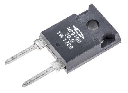 Caddock 20Ω Power Film Resistor 100W ±1% MP9100-20.0-1%