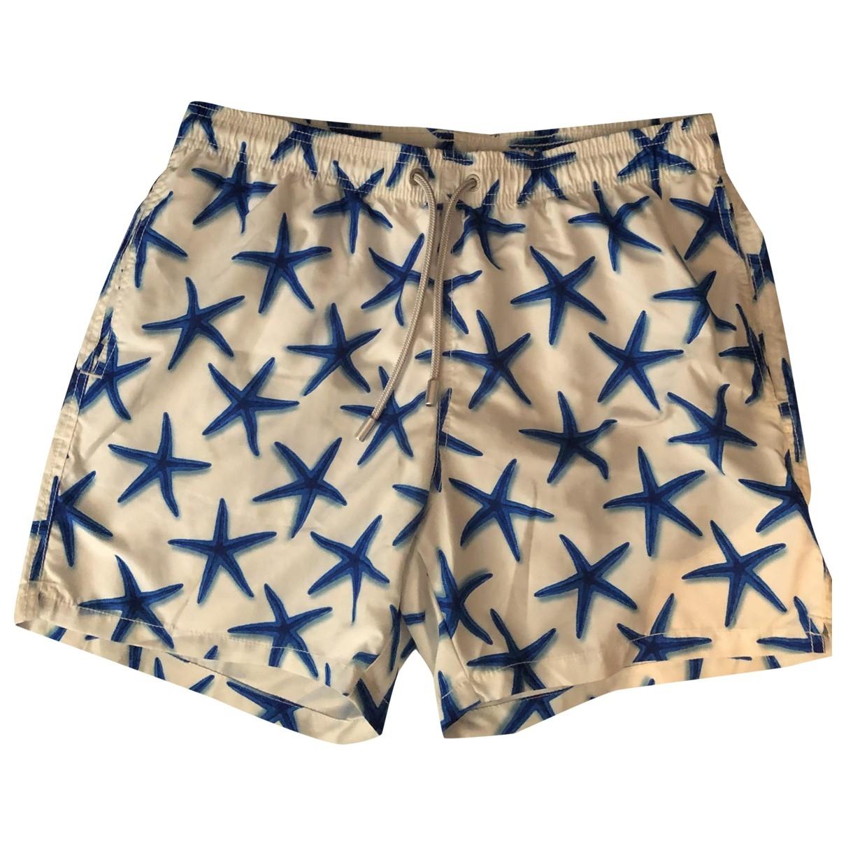 Mc2 Saint Barth \N White Swimwear for Men M International