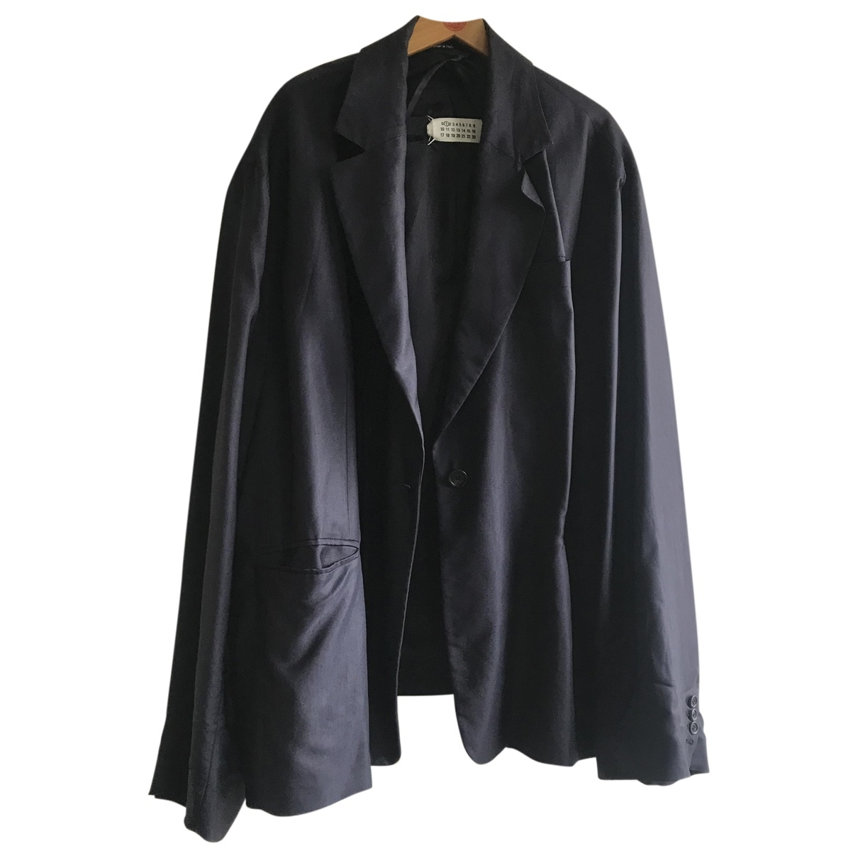 Maison Martin Margiela \N Navy jacket for Women XS International