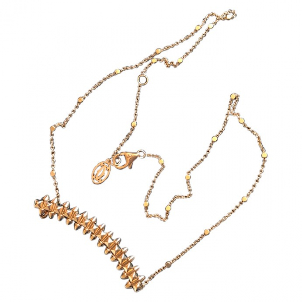 Cartier Clash Gold Pink gold necklace for Women \N