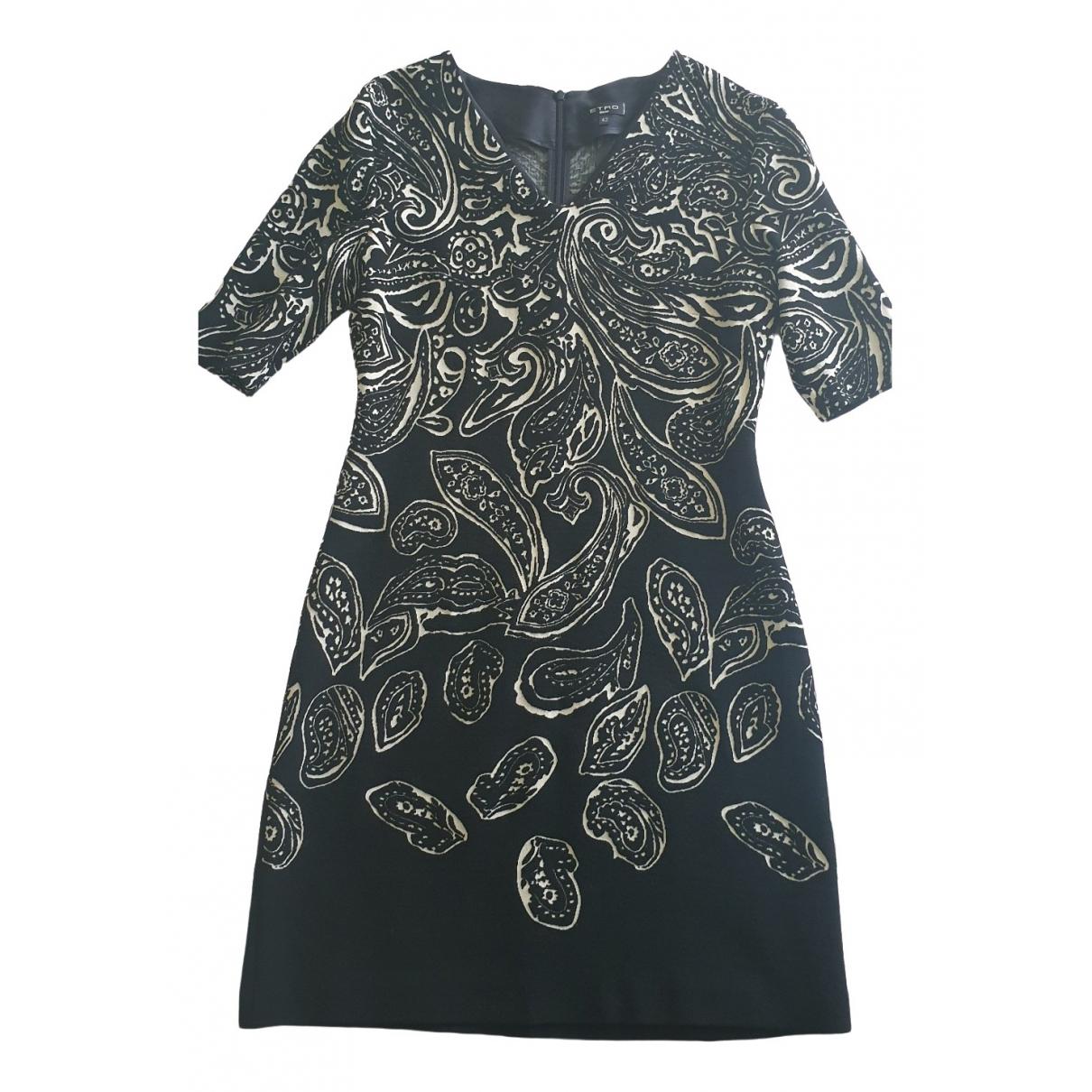 Etro \N Black dress for Women 42 IT