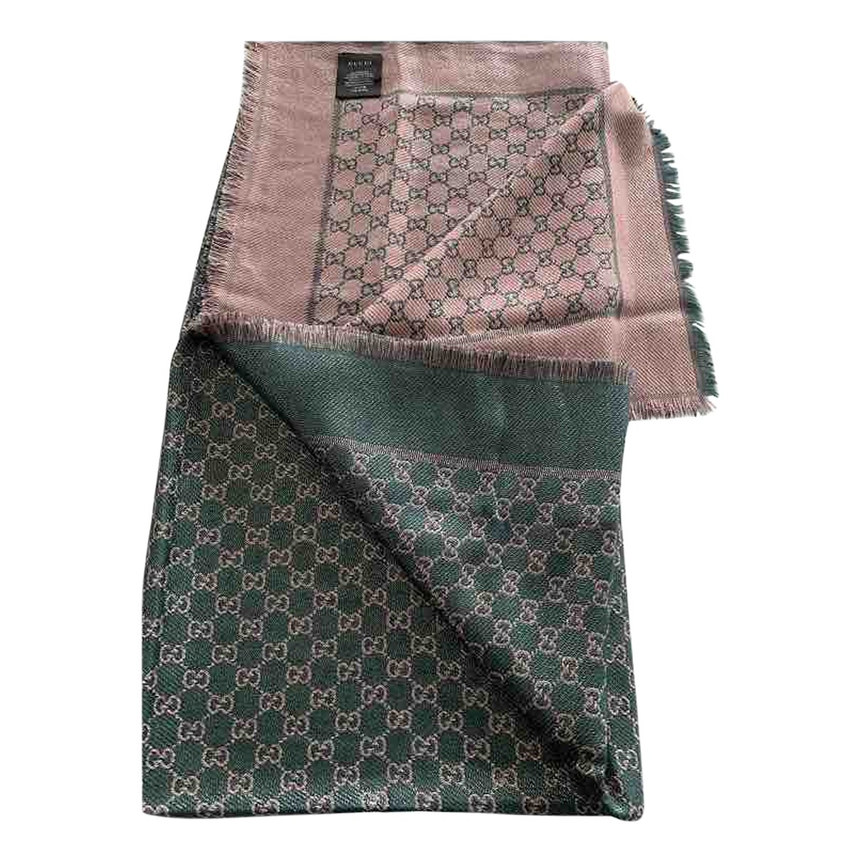 Gucci \N Green Cotton scarf for Women \N
